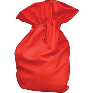 Rode Kerstman Zak - Kerst Verkleedkleding