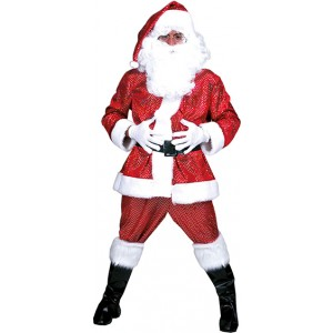 Kerst Cape - Kerst Verkleedkleding - Kostuum Vrouw