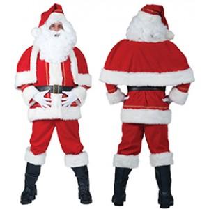 Kerstvrouwjumpsuit - Kerst Verkleedkleding - Kostuum Vrouw