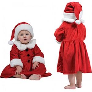 Baby Kerstvrouw - Kerst Verkleedkleding - Kostuum Baby