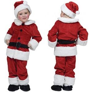 Baby Kerstman - Kerst Verkleedkleding - Kostuum Baby
