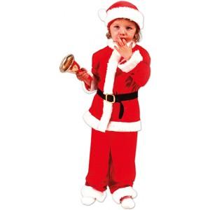 Baby Hulp Kerstman - Kerst Verkleedkleding - Kostuum Kind
