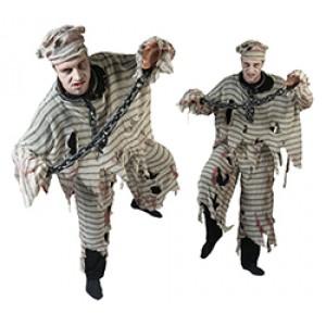 Zombie Gevangene - Halloween Verkleedkleding - Eng Kostuum