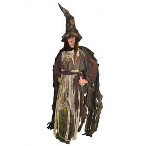 Zombie Heks  - Halloween Verkleedkleding - Kostuum vrouw