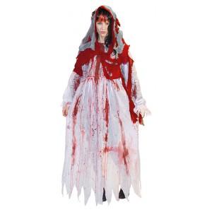 Zombie Bruid - Verkleedkleding Halloween - Kostuum Vrouw